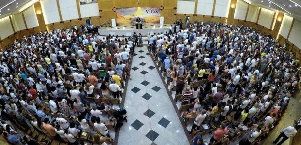 Vigília da Virada com o Fogo Abrasador em Recreio dos Bandeirantes, no Rio de Janeiro