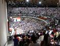 Vigília da Virada com o Fogo Abrasador na Catedral Mundial da Fé, em Del Castilho, no Rio de Janeiro