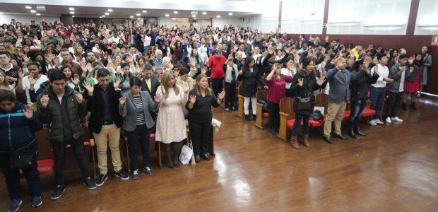 Na Espanha, a Vigília da Virada reuniu milhares de pessoas