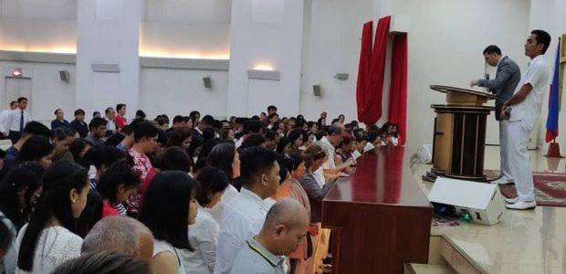 Vigília da Virada nas Filipinas