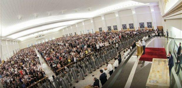 No Paraná, uma multidão compareceu na virada do ano