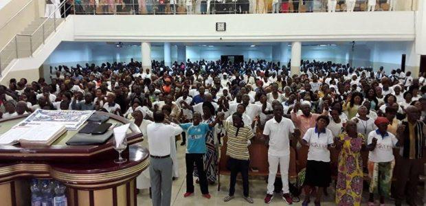Vigília do Fogo Abrasador no Gabão