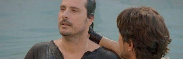 Pedro batiza o hidrópico e o chama de Rafael