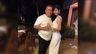 Amado Batista anuncia namoro com jovem de 19 anos