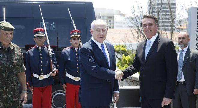 Bolsonaro e Netanyahu projetam parcerias após 'momento histórico'