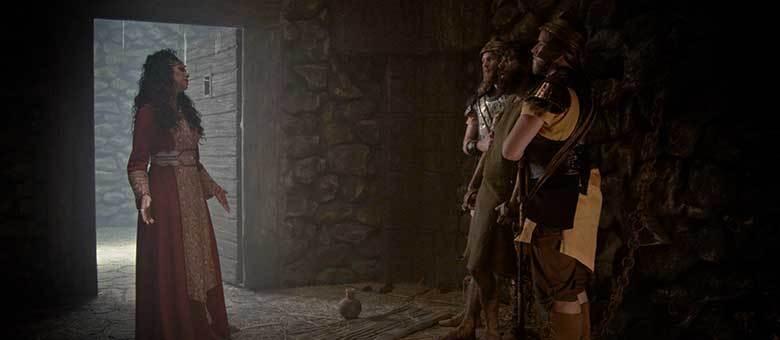 Herodíade provoca João Batista na prisão