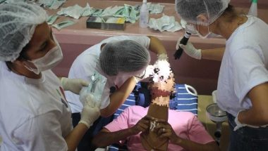 Projeto devolve sorriso às reeducandas em Aparecida de Goiânia, no estado de Goiás