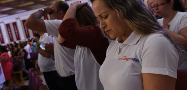 Grupo da Saúde: também realizaram mais de 18 mil batismos no próprio leito