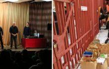 Voluntários visitam pela primeira vez um presídio na Rússia