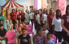 Escola de Mães: voluntárias promovem ação em hospital de Teresina, no Piauí