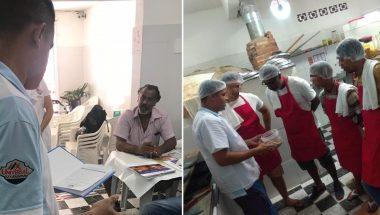 Voluntários oferecem curso profissionalizante a familiares de menores e ex-internos no litoral paulista