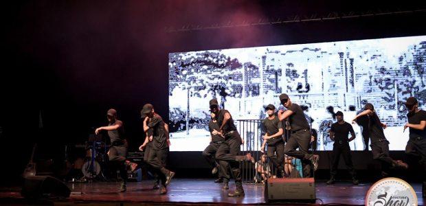 O espetáculo contou com danças de vários estilos