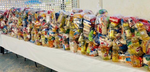 Um total de 7.505 cestas básicas foram distribuídas ao longo da ação