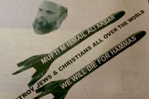 Messaggio dall'inferno ai cristiani e giudei
