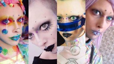 Jovem retira mamilos e sobrancelhas para se assemelhar a um alienígena