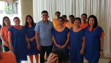 UBB realiza o primeiro batismo nas águas dentro de um presídio nas Filipinas