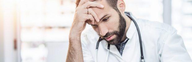 A história de um médico que sofria de depressão