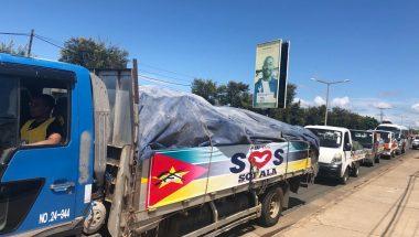 FJU doa 4 toneladas de alimentos às vítimas do ciclone Idai