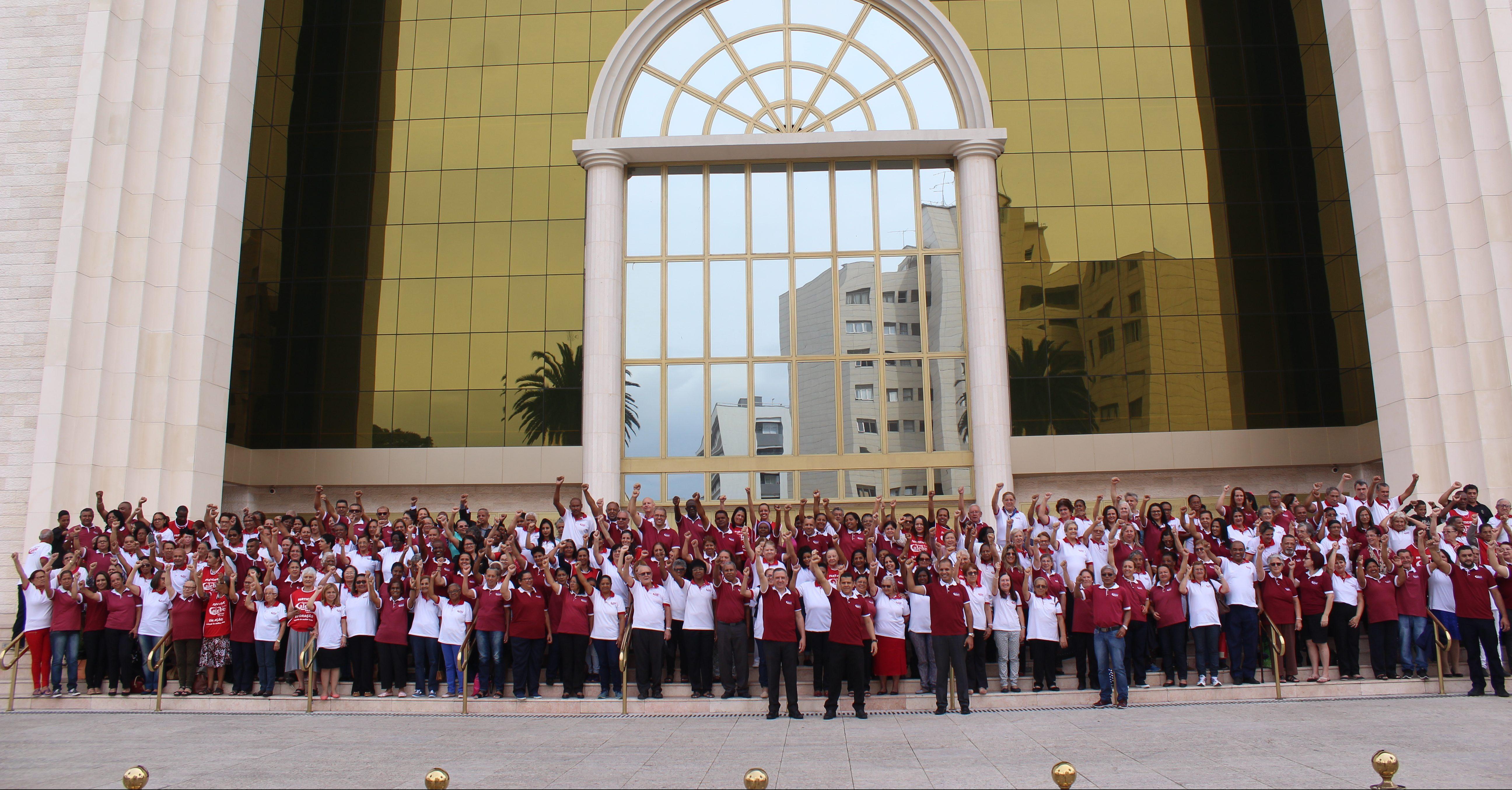 Milhares participaram da consagração do Calebe ao redor do mundo
