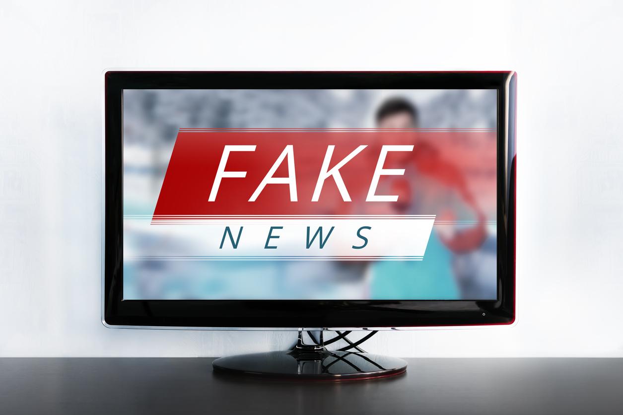 Resultado de imagem para tv fake news tv