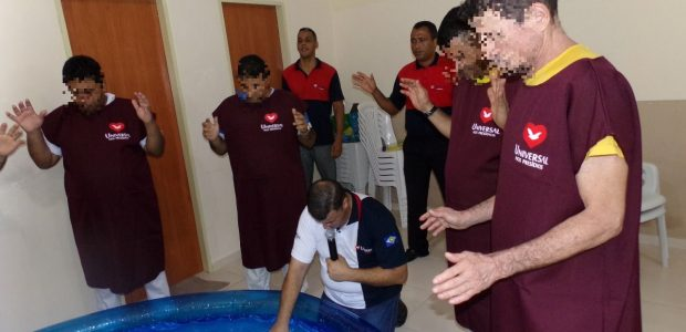 Batismo no Mato Grosso