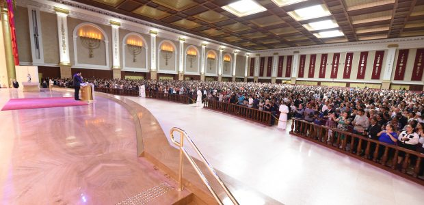 Bispo Renato Cardoso fez encerramento do Congresso