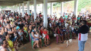 Ação social beneficia comunidade ribeirinha do Rio Negro