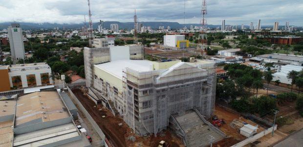 A obra teve início em Janeiro de 2018
