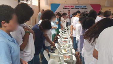 Palestra Namoro Blindado é realizada em unidade socioeducativa de São Paulo