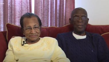 Casal completa 82 anos de união