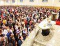 Reunião especial na Catedral de Praia de Grande