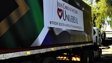 SOS Moçambique  arrecada 250 toneladas de alimentos, água e roupas