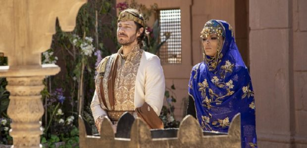 Acabe anuncia Jezabel como sua noiva e futura esposa