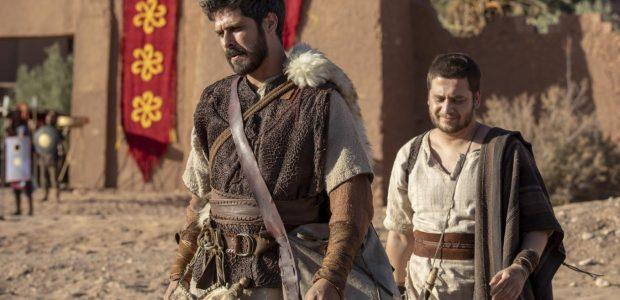 Elias vai embora de Samaria e a terra atrás dele se torna seca
