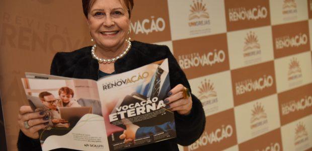 A deputada estadual, Edna Macedo, esteve presente