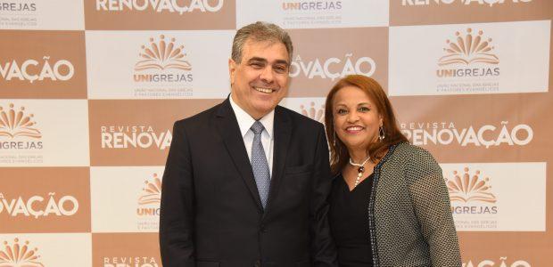 Vereador Atílio Francisco e sua esposa