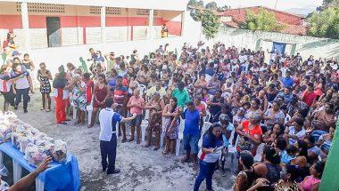 A Gente da Comunidade reúne centenas de pessoas em Fortaleza, no Ceará