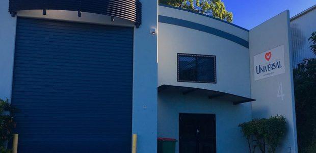 Universal no bairro de Underwood, na Austrália