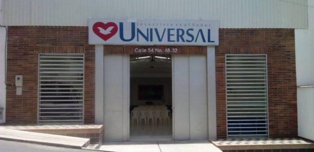 Universal  na Colômbia