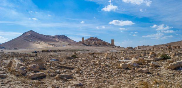 Abraão viveu parte de sua história atravessando o deserto da Síria - Getty Images