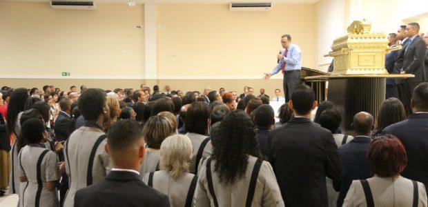 Concentração de fé reuniu também obreiros e voluntários dos grupos