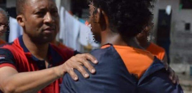 Mais um preso batizado na Bahia