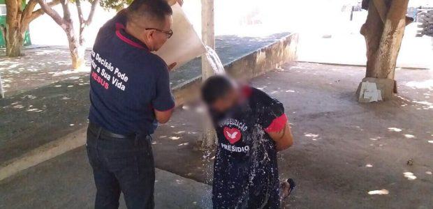 Detento batizado no Piaui