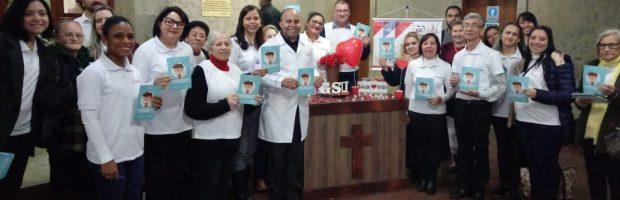Grupo da Saúde participa da campanha Junho Vermelho