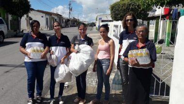 Voluntários da Universal auxiliam vítimas do rompimento de barragem na Bahia