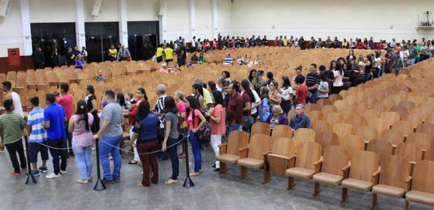 Em Rondônia, as filas chamaram atenção