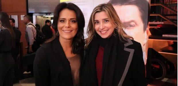 As Jornalistas Adriana Araújo e Mylena Ciribelli marcaram presença