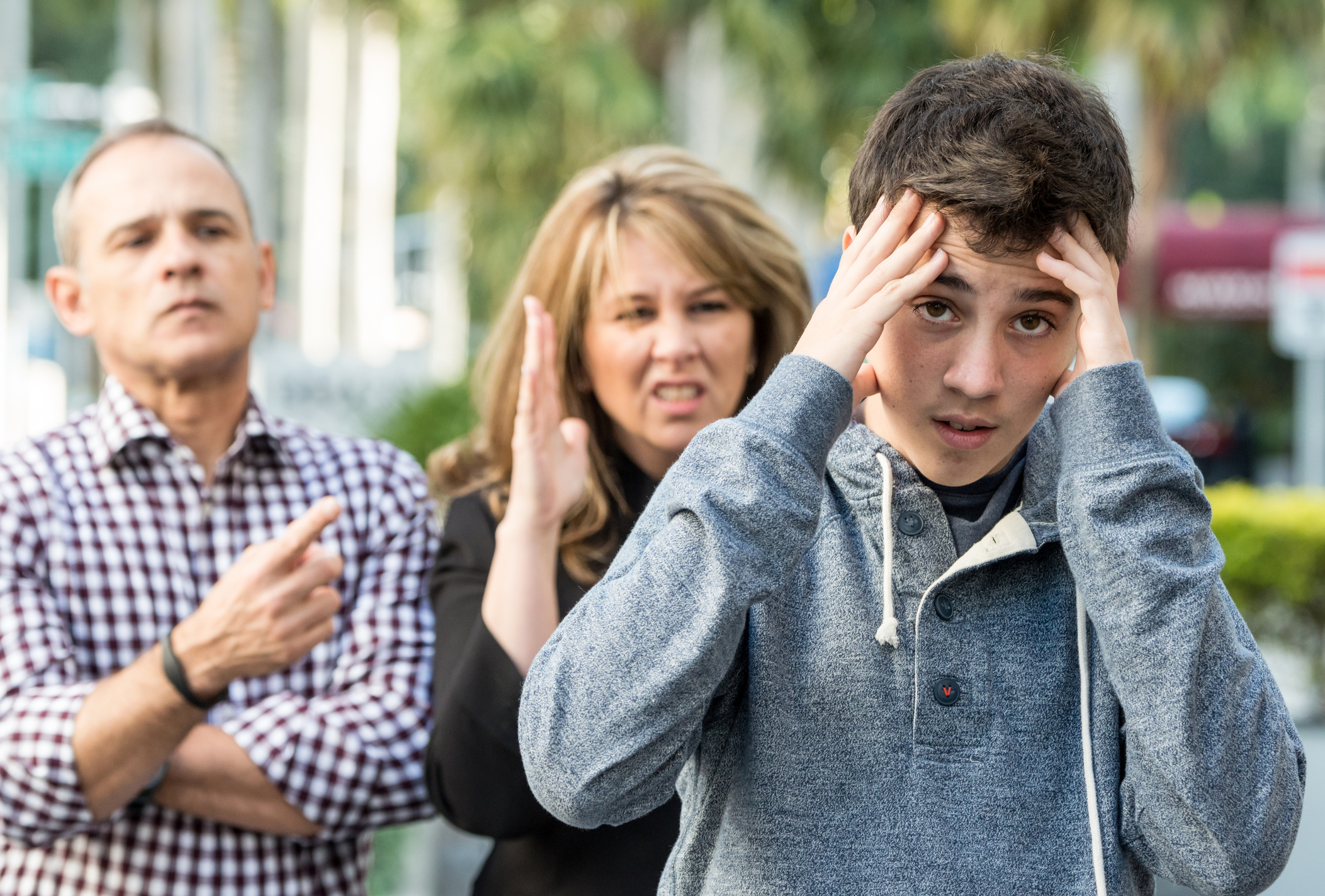 Atenção pais: não irritem seus filhos