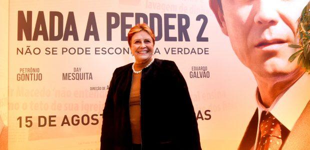 A irmã do Bispo Macedo, deputada estadual Edna Macedo