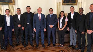 Grupo é recebido pelo Secretário de Justiça e Cidadania de São Paulo